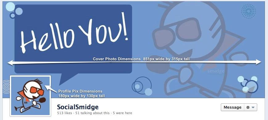 Facebook Fanpage Timeline Socialsmidge